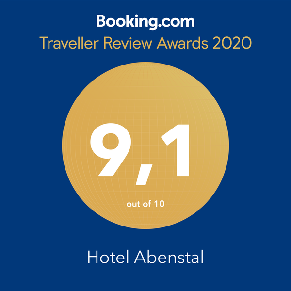 Booking.com Traveller Award 9.1
